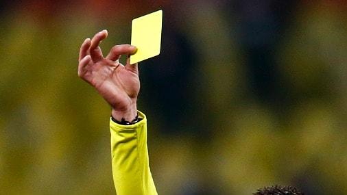 Игроки, которым чаще других показывают желтую карточку