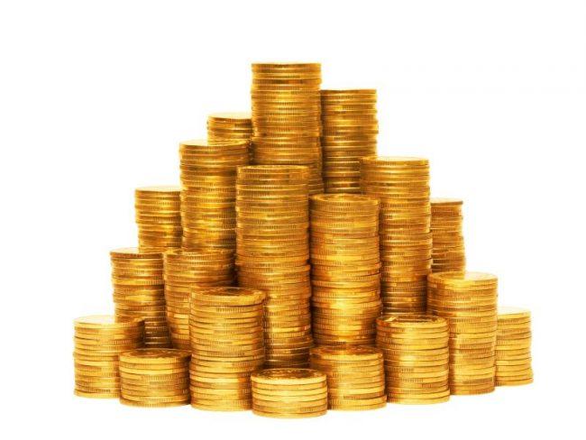 Гора монет