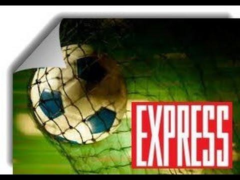 Футбольный мяч и экспресс