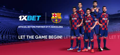 1xBet стала глобальным партнером «Барселоны»