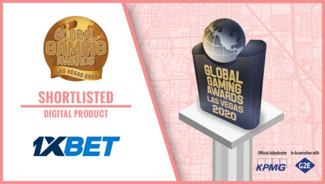 1xBet номинирован на престижную премию Global Gaming Awards