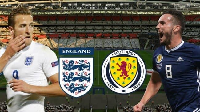 Матч Англия — Шотландия