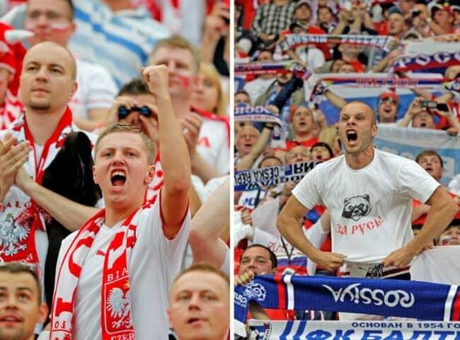 Матч Польша — Россия